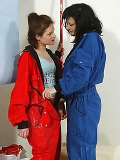 Lesbian Uniform Pics